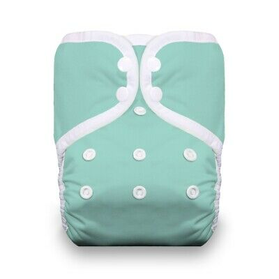 Thirsties Pocket Diaper - Aqua NWT