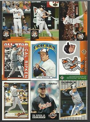 Cal Ripken Jr. 12 Different Cards -  Inserts and Premiums too!