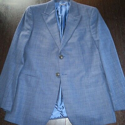 GIORGIO ARMANI BLACK LABEL Blue Blazer Sport Coat Jacket Sz 48