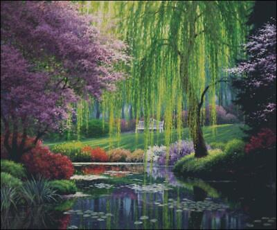 Willow Pond Cross Stitch Chart