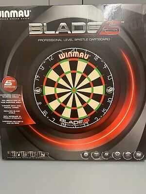 Winmau Blade 5 Dartboard - 5th Generation ROTA Lock System DB014 - NOT DUAL CORE