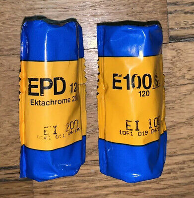 Kodak Ektachrome 200 120 Film EPD 120. RARE FILM EXPIRED