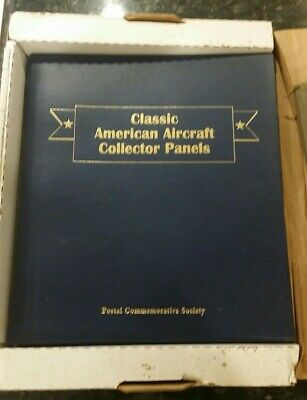 8 Classic AMERICAN AIRCRAFT Collector Panels Postal Commemorative NEW STAMPS