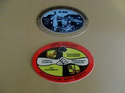 Appin Colliery - Coal Mining Stickers