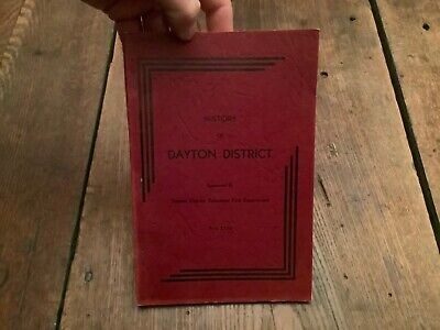 Ca 1950 History Dayton District Pa  Armstrong County Illustrated Scarce Ads