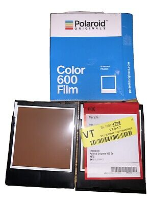 2 Polaroid Originals 600 Instant Color Film 4670 for Polaroid 600 Type Cameras