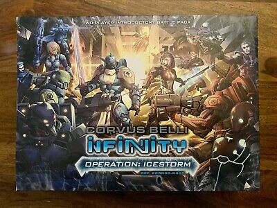 BRAND NEW! Corvus Belli Infinity Operation Icestorm Introductory Battle Pack