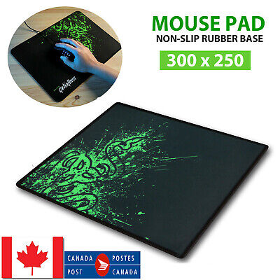 Large Gaming Mouse Pad Desktop Mat Computer PC Laptop Anti-slip Mat 30 x 25cm