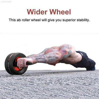 Durable Muscle Belly Roller Motion Outdoors Gym Sit-Ups Assistant Four Rounds