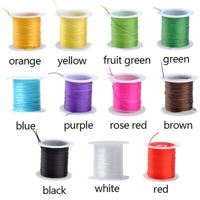 DIY Stretchy Elastic Beading Thread  Bracelet String For Jewelry Making Kit