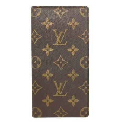 Auth Louis Vuitton Monogram Agenda De Posh Notebook Cover /ee248