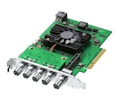 DeckLink 4K Pro 12G-SDI Capture Card for SD, HD ULTRA HD & DCI 4K - NEW UNOPENED