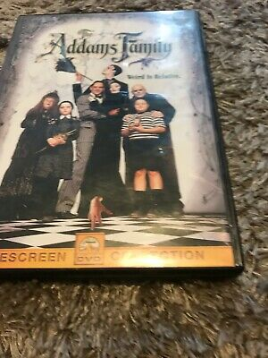 The Addams Family (DVD, 2000, Sensormatic)