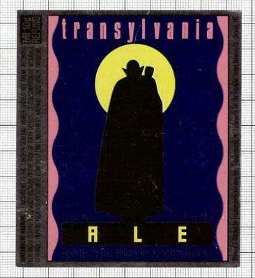 US Frankenmuth Brewery,Michigan TRANSYLVANIA Dracula beer label C1847 026