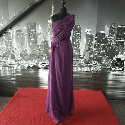 Dessy Dress (Aubergine-Size 14-2858) Ball, Bridesmaid, Cruise, Prom, RRP £200+