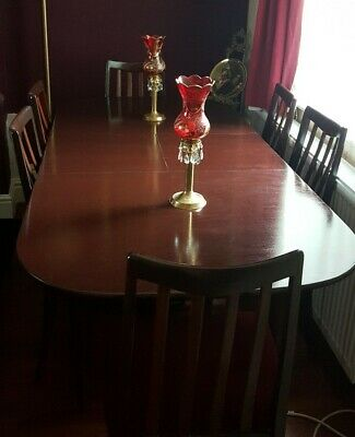 G Plan Table & Six Chairs Simply Ercol Guild of Master Craftsmen