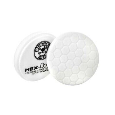 """Chemical Guys Hex Logic Pads - WHITE - 5.5"""" - Singles"""