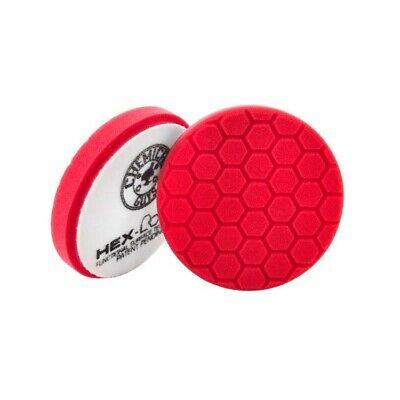 """Chemical Guys Hex Logic Pads - RED - 5.5"""" - Singles"""