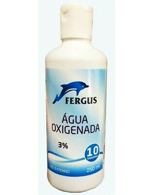 Hydrogen Peroxide H2O2-10 Vols Solution 3% p/p - 250ml - skin disinfectant