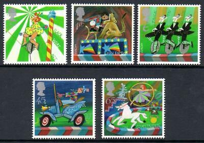 GB 2002  Commemorative Stamps~Circus~Unmounted Mint Set~UK Seller