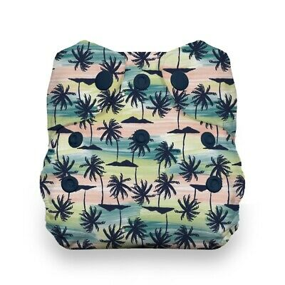 Thirsties Natural Newborn All In One - Palm Paradise NWT
