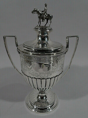 George III Urn - Antique GeorgianTrophy - English Sterling Silver - Frisbee 1805
