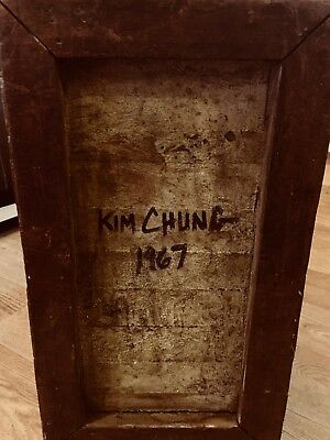 *REDUCED BY £50* Kim Chung 1967  Unique Antique
