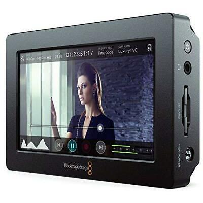 Blackmagic Design Video Assist HDMI/6G-SDI Recorder, 1080P 60fps Touchscreen LCD