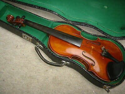 "beautiful old Violin  4/4 ""Fredo Curtius 139 Gotha 1969"" Nicely flamed"
