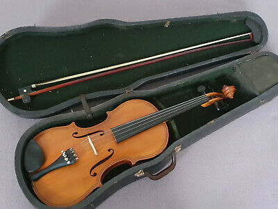"Beautiful old 4/4 Maggini Violin violon  1part back , nicely flamed ""Markert"""