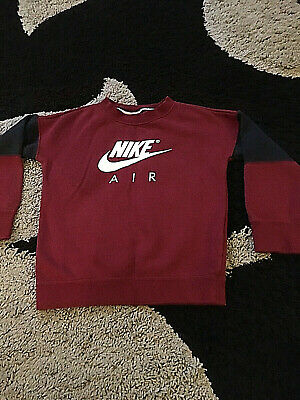Girls Nike Air Sweatshirt Jumper Age 6-8 Yrs