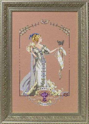 Lady Mirabilia cross stitch chart