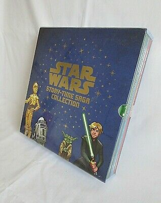 Star Wars Story Time Saga Collection 4 Books Disney 2016 Brand New Sealed A10