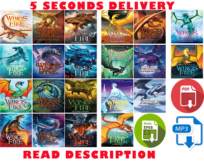 Wings Of Fire 19 Books Collection by Tui T. Sutherland (E-B0K&AUDI0B0K||EMAILED)