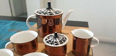 Rare Rosenthal Vintage Tea Set Incomplete with 3 cups, milk and sugar