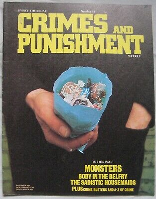 Crimes and Punishment magazine Issue 44 - Monsters