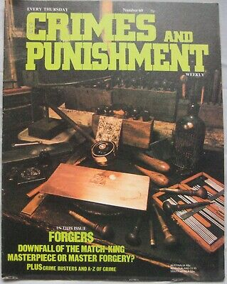 Crimes and Punishment magazine Issue 60 - Forgers