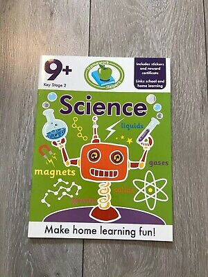 KS2 Science Learning Workbook Home Learning Age 9+ English Maths Fun Colourful