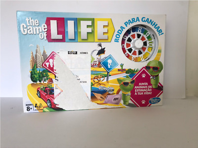NEW The Game of Life Board Game in Portuguese