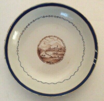 18th Century Chinese Porcelain Bowl Plate