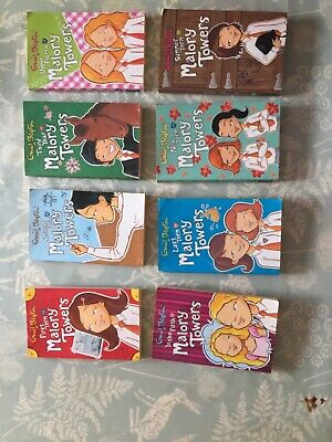 Malory Towers Book Set 1-8 - Enid Blyton
