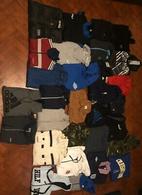 31 Piece Mens Jackets & Jumpers Joblot/Wholesale/Bulk-Nike/Adidas/Tommy Hilfiger