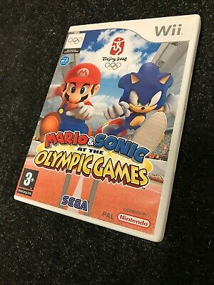 NINTENDO Wii Game MARIO & SONIC AT THE OLYMPICS - COMPLETE Collectors MINT