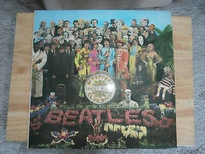 The Beatles, Sgt Peppers Lonely Hearts Club Band, PCS 7027, Vinyl LP Album.