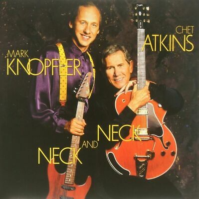 CHET ATKINS & Mark Knopfler, Chet Atkins - Neck & Neck [New Vinyl] Holland - Imp