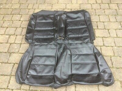 Toyota MR2 W20 1990–1999 Black Leather Back Bench Seat Cover from Germany