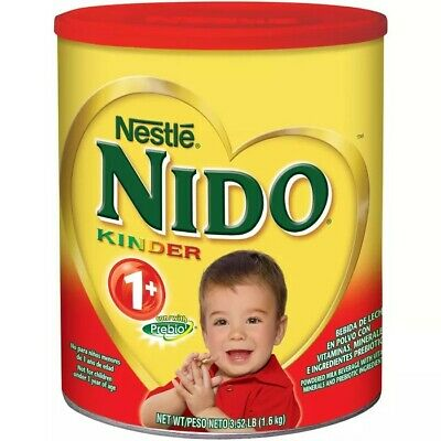 Nido Kinder 1+ (Large Can) Dry Powder Milk 56.4Oz - 3.52LB ●FREEE SHIPPIN●