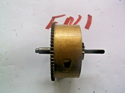 Enfield Mainspring Barrel From An Old  Mantle Clock  Ref En1