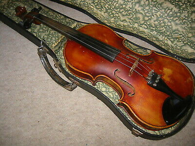 Very nice , old 4/4 Violin violon,Nicely flame
