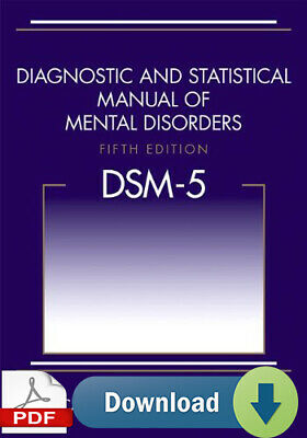 DSM-5 Diagnostic and Statistical Manual of Mental Disorders, 5th Edition